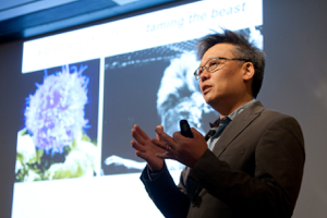 Wendell Lim, PhD, professor of Cellular & Molecular Pharmacology at UCSF, speaks about the Transformative Cellular Technologies in Rare Disease Research