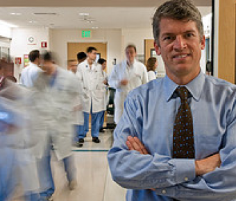 CTSI Director, S. Claiborne (Clay) Johnston, MD, PhD